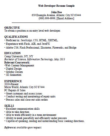 sales clerk resume