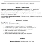 Click here to download the Entry Level Computer Programmer Resume.